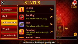 Billionaire Poker - Play Texas Hold'em with Friends or Offline. Become a Star. screenshot 2