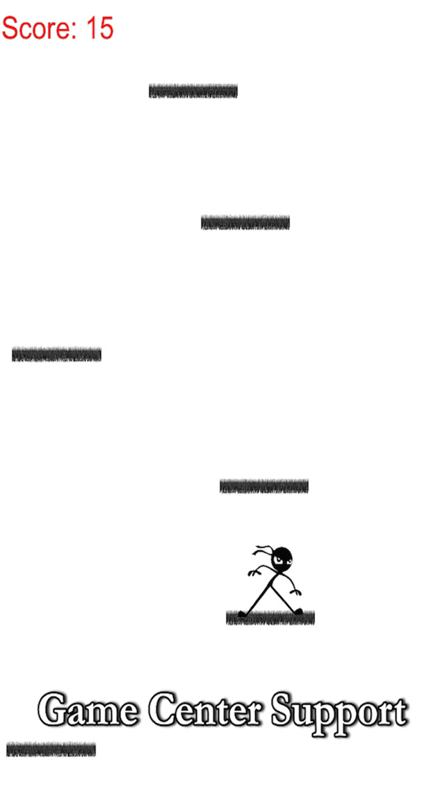 Amazing stickman ninja jump - quick climb to sky free screenshot 3