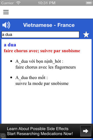 Vietnamese French Pocket Dictionary - Từ điển Việt - náhled