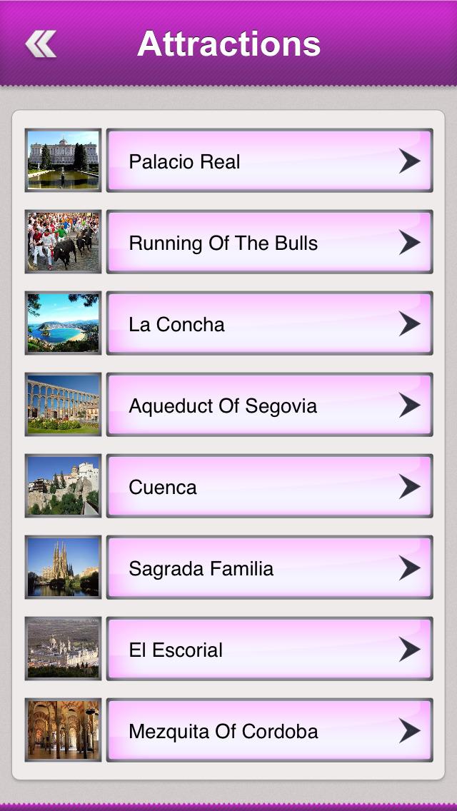 Spain Tourism screenshot 3