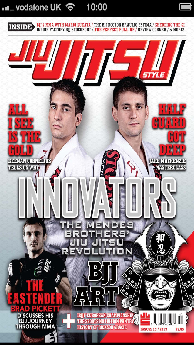 Jiu Jitsu Style Magazine – World's No.1 BJJ Mag screenshot 5