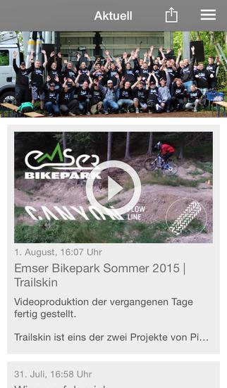 Emser Bikepark screenshot 1