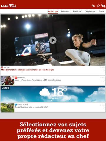 Lille Live : toute l'actu de Lille et sa région screenshot 8