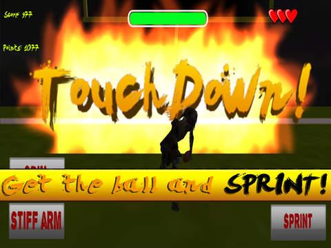 Zombie Football League - ZFL Free screenshot 5