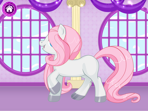 Cute Pony For Girls - Dress it up! screenshot 9