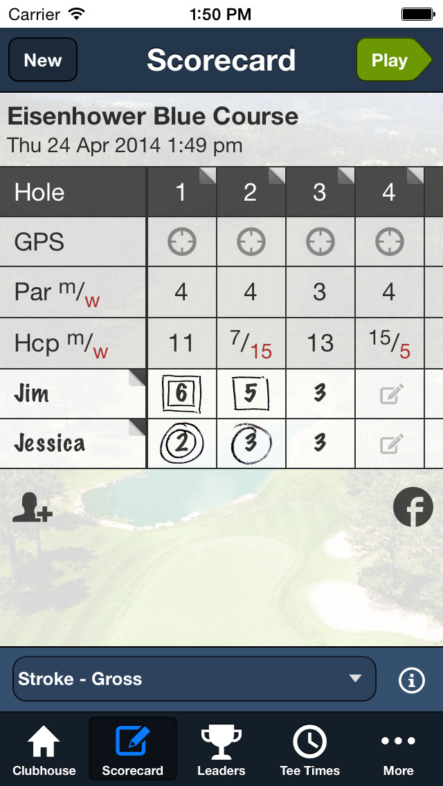 Eisenhower Golf Club screenshot 4