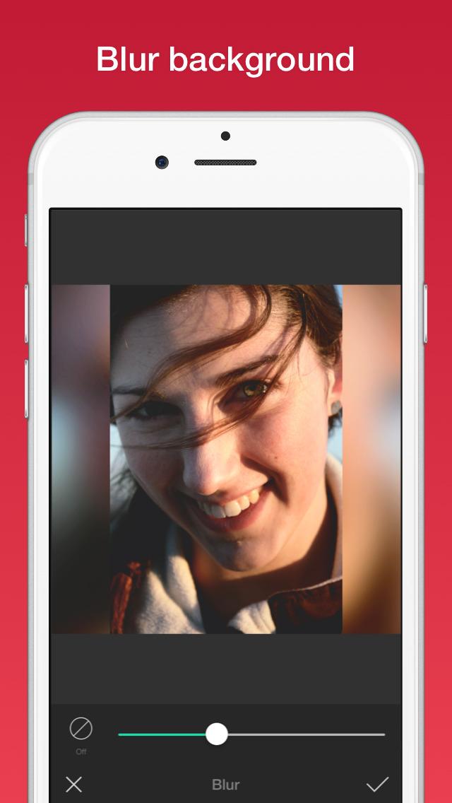 Photo Editor for Instagram No Crop, Emoji & Blur screenshot 1