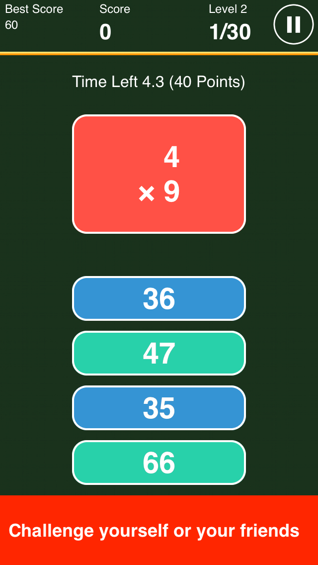 Hero of Times Tables Pro - Learn and Practice Multiplication screenshot 1