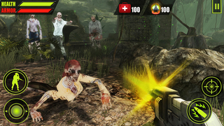 Forest Zombie Hunting 3D screenshot 2
