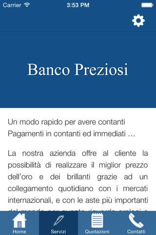 Banco Preziosi - náhled