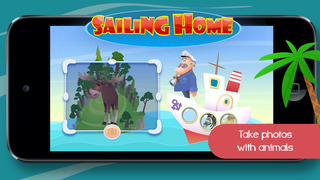 Sailing Home – Learn Animal Habitats. Educational game for preschool kids screenshot 4