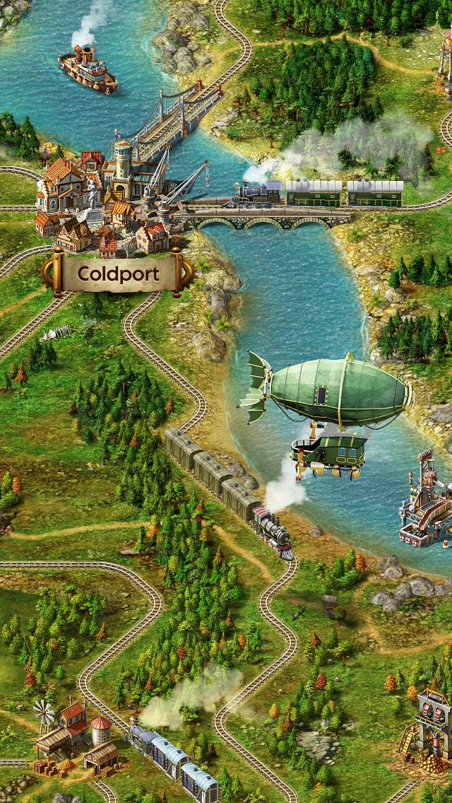 Transport Empire screenshot 2