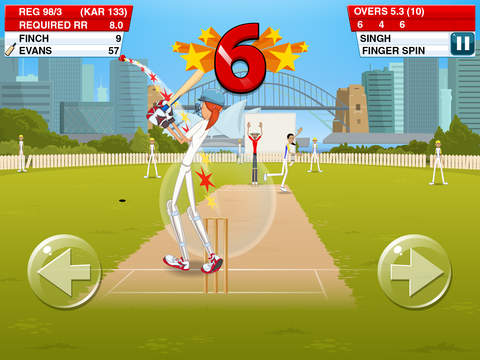 Stick Cricket 2 screenshot #1