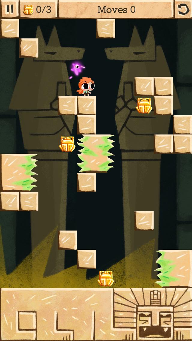 Zuki's Quest - a turn based Puzzle Platformer screenshot 3