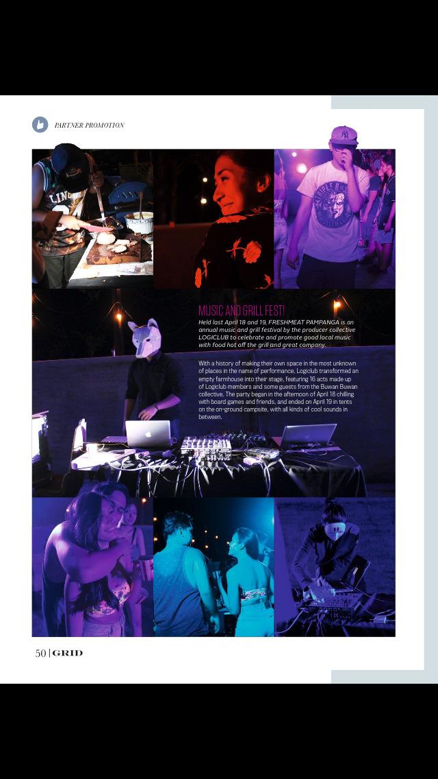 Grid Magazine screenshot 2