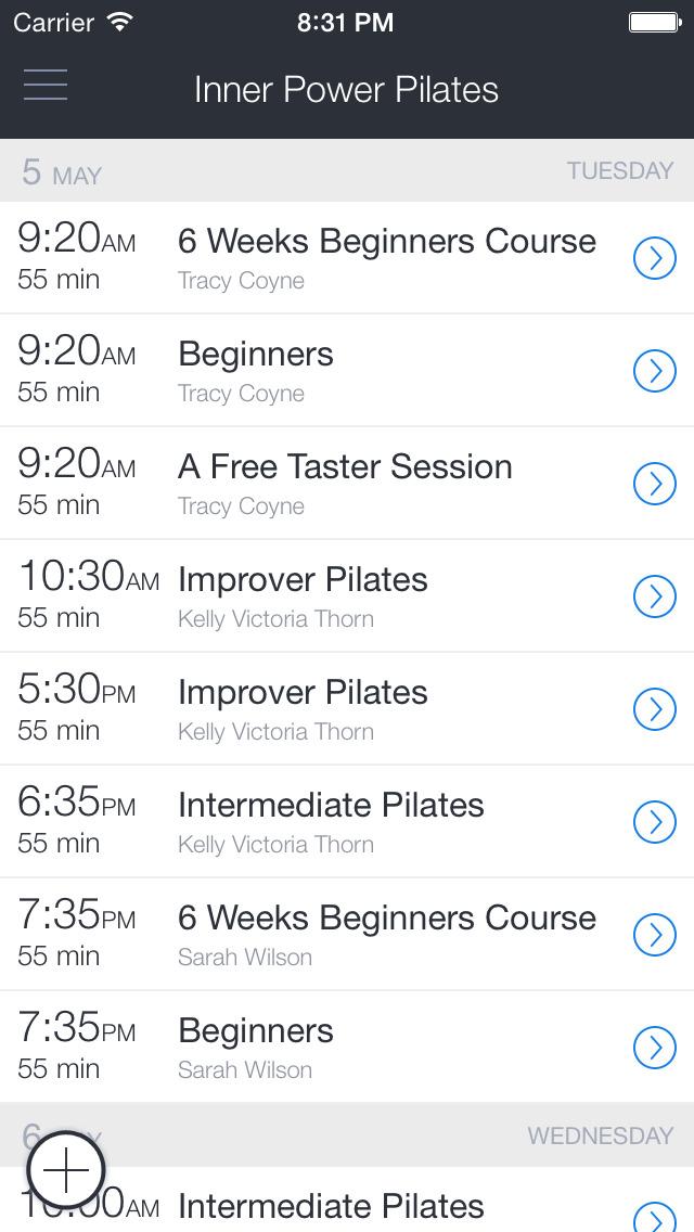 Inner Power Pilates - UK screenshot 1