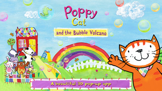 Poppy Cat and the Bubble Volcano screenshot 1