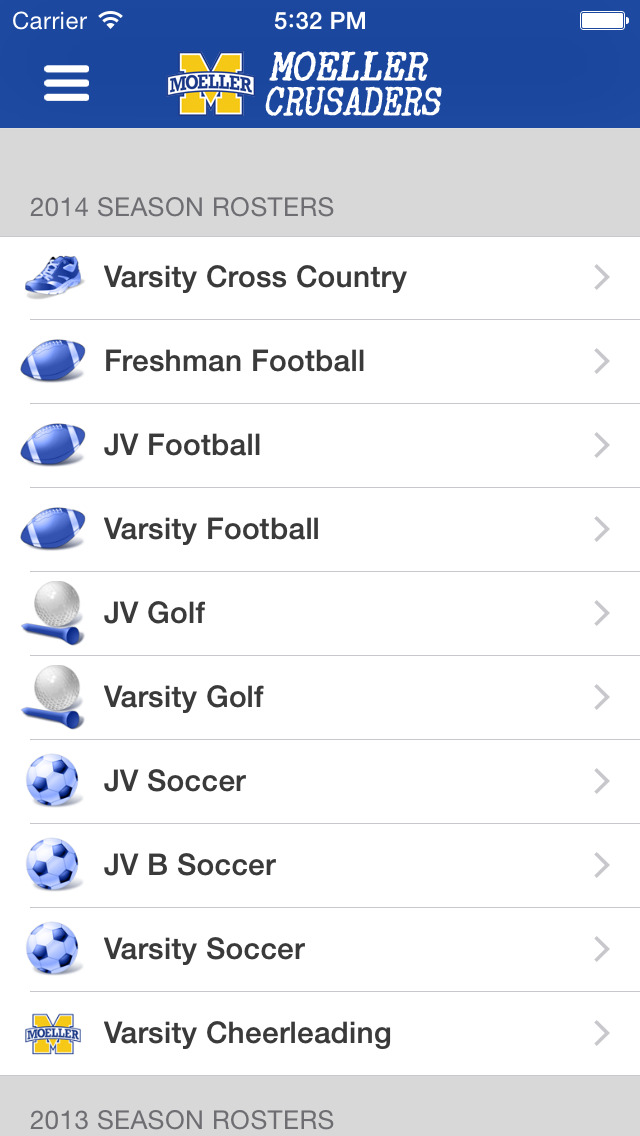 Moeller High School Sports screenshot 4