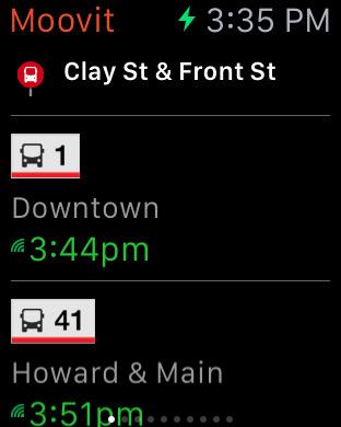 Moovit: Train & Bus Times screenshot 7
