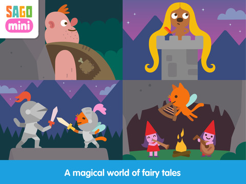 Sago Mini Fairy Tales screenshot 8