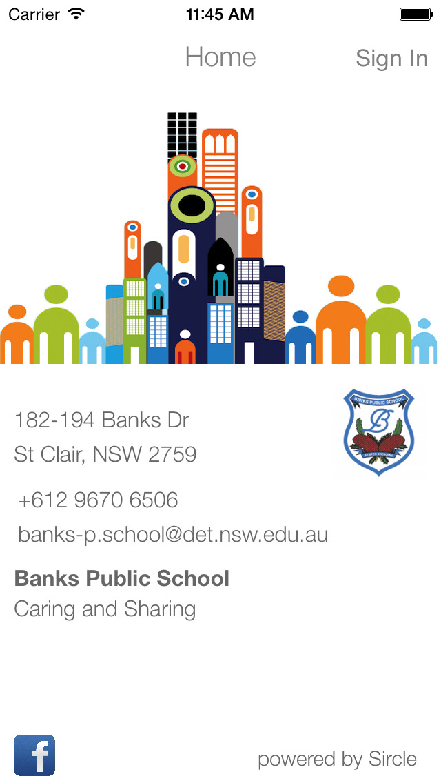 Banks Public School screenshot 1
