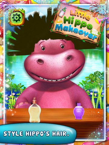 Little Hippo Makeover screenshot 9