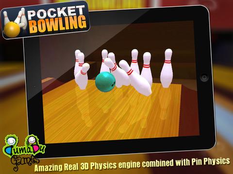 Pocket Bowling 3D HD screenshot 7