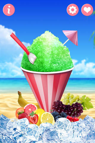 Snow Cone 2 - food games - náhled