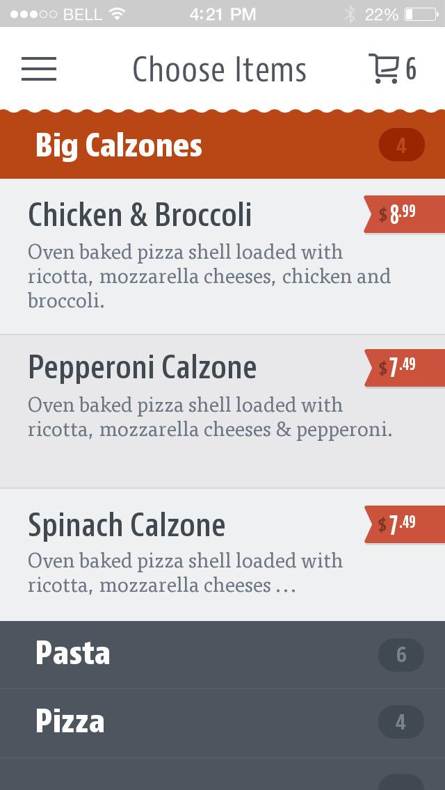 La Roma Pizza screenshot 4