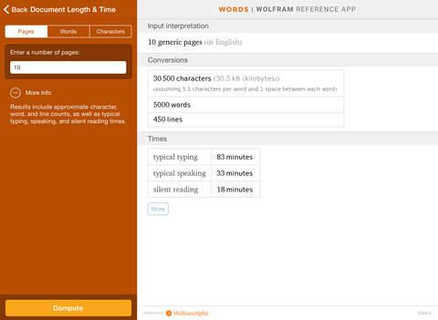 Wolfram Words Reference App screenshot 9