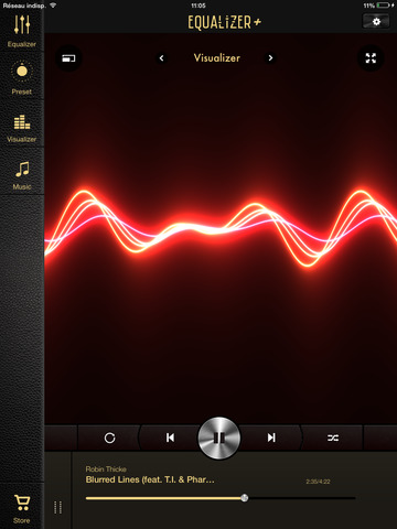 Equalizer+ HD music player screenshot 9