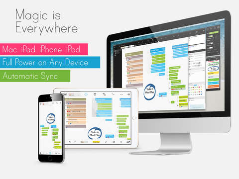 MagicalPad: Notes, Mind Maps, Outlines and Tasks - All in one screenshot 5