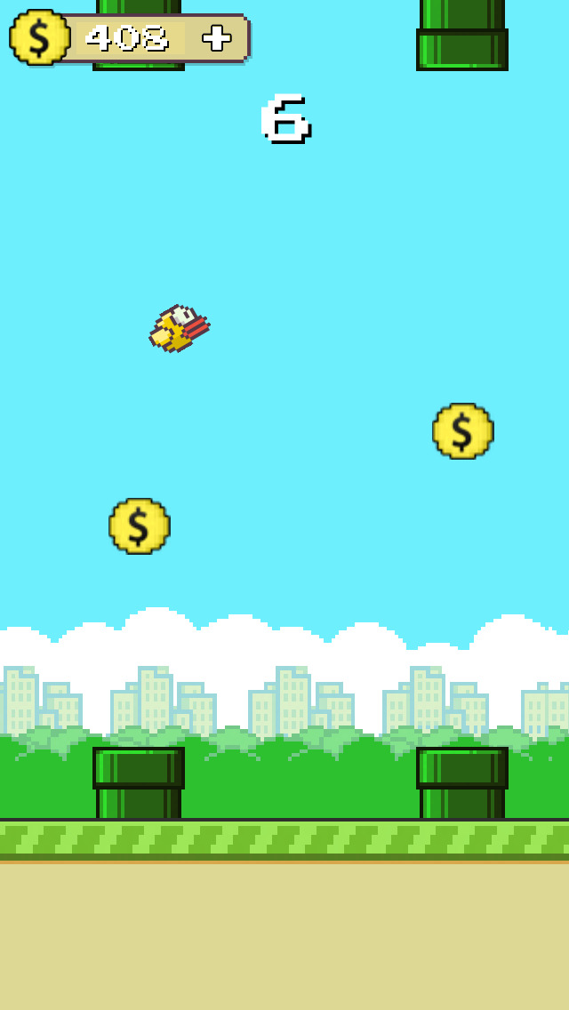 Flappy Anti Hero Go: gravity flip screenshot 2