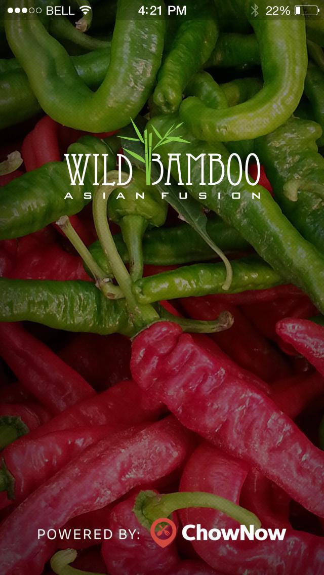 Wild Bamboo - Asian Fusion screenshot 1