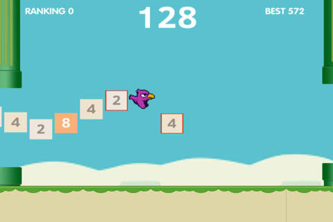 Flappy Of 2048 - náhled