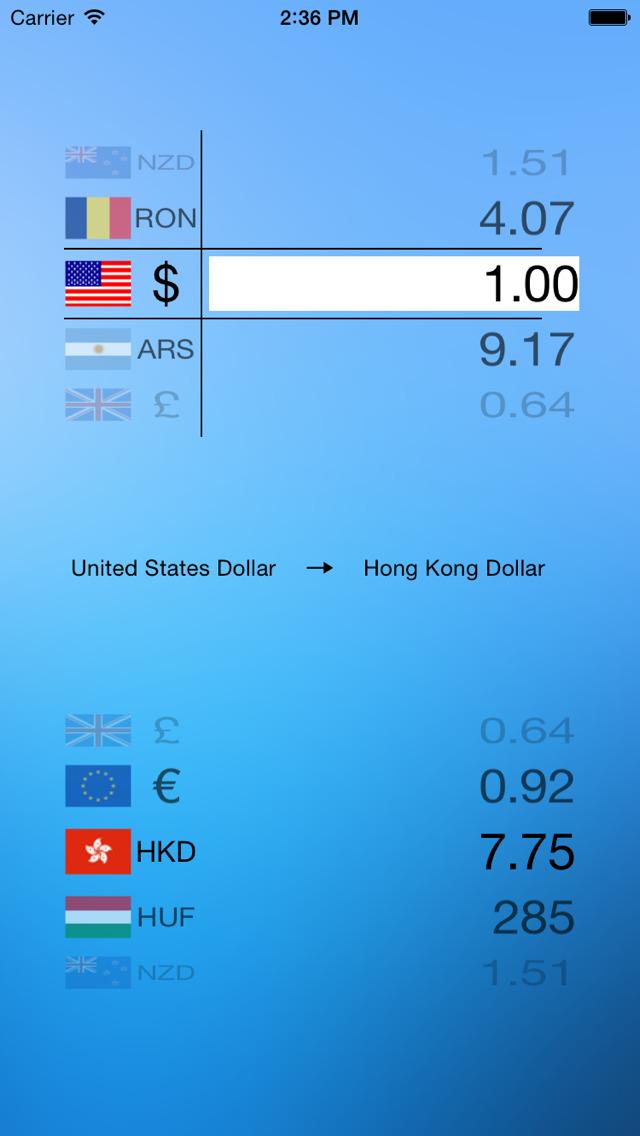 Currency Convert - Watch screenshot 2