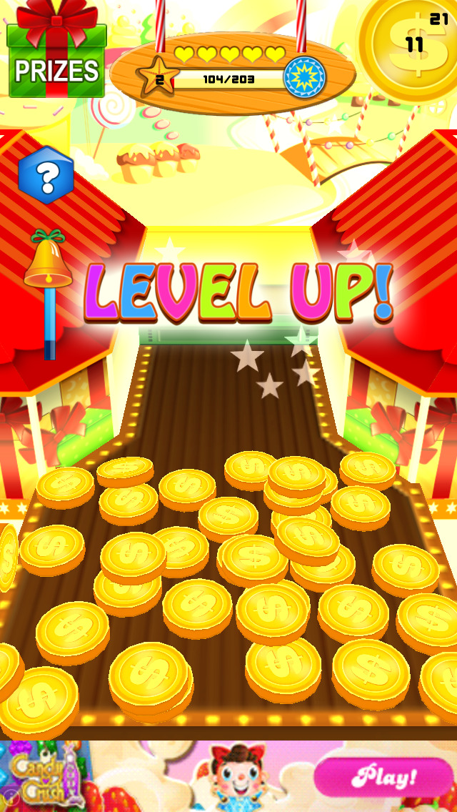 Candy Party Coin Pusher 3D screenshot 2