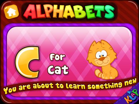 Alphabets Teacher - A to Z HD Lite screenshot 8