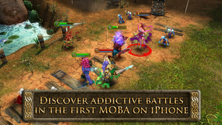 Heroes of Order & Chaos - Multiplayer Online Game screenshot 1