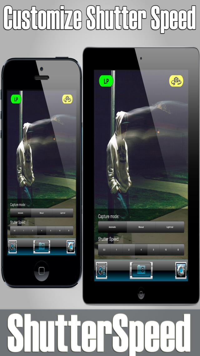 Shutter Speed Free - Slow Camera DSLR Style FX Cam screenshot 2