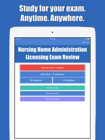 Nursing Home Administration screenshot 5