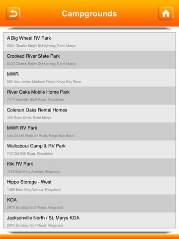 Campgrounds & RV Parks screenshot 10
