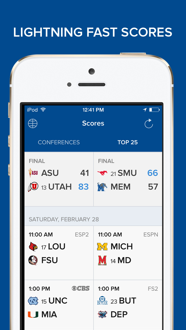 CBS Sports App Scores & News screenshot 2