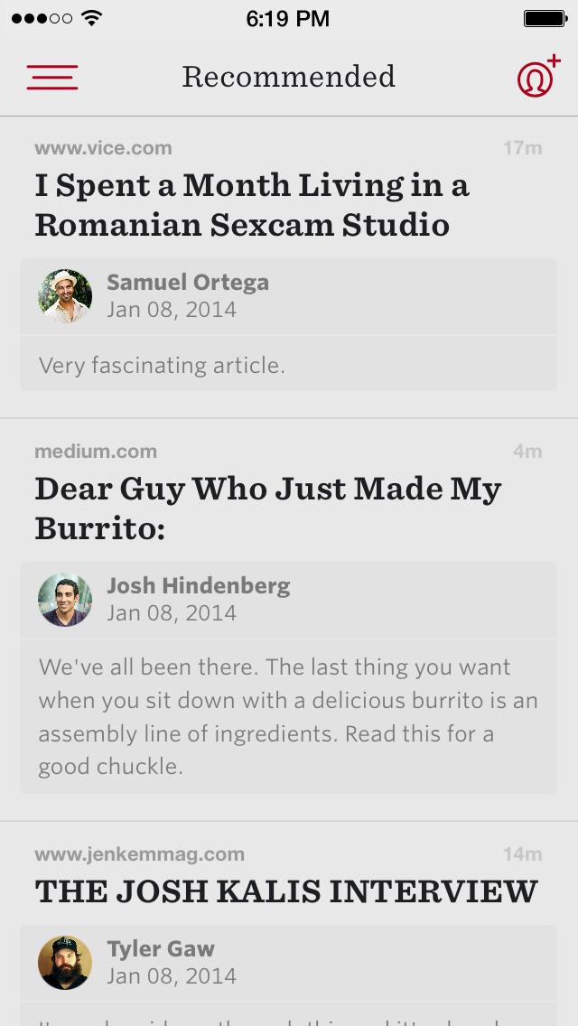 Readability™ screenshot 2