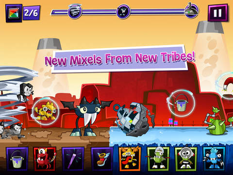 Mixels Rush - Use Mixes, Maxes and Murps to Outrun the Nixels screenshot 7