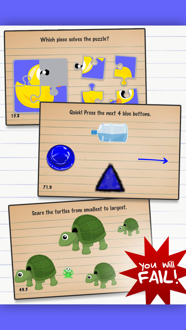 The Moron Test: IQ Brain Games screenshot 5