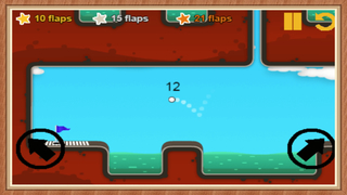 Flying Awesome Golf screenshot 2