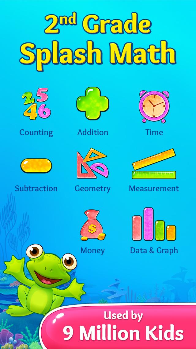 2nd Grade Math Learning Games screenshot 1