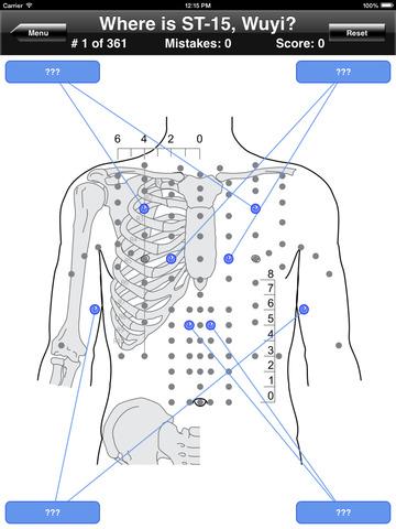 Acupuncture Points Body Quiz screenshot 7
