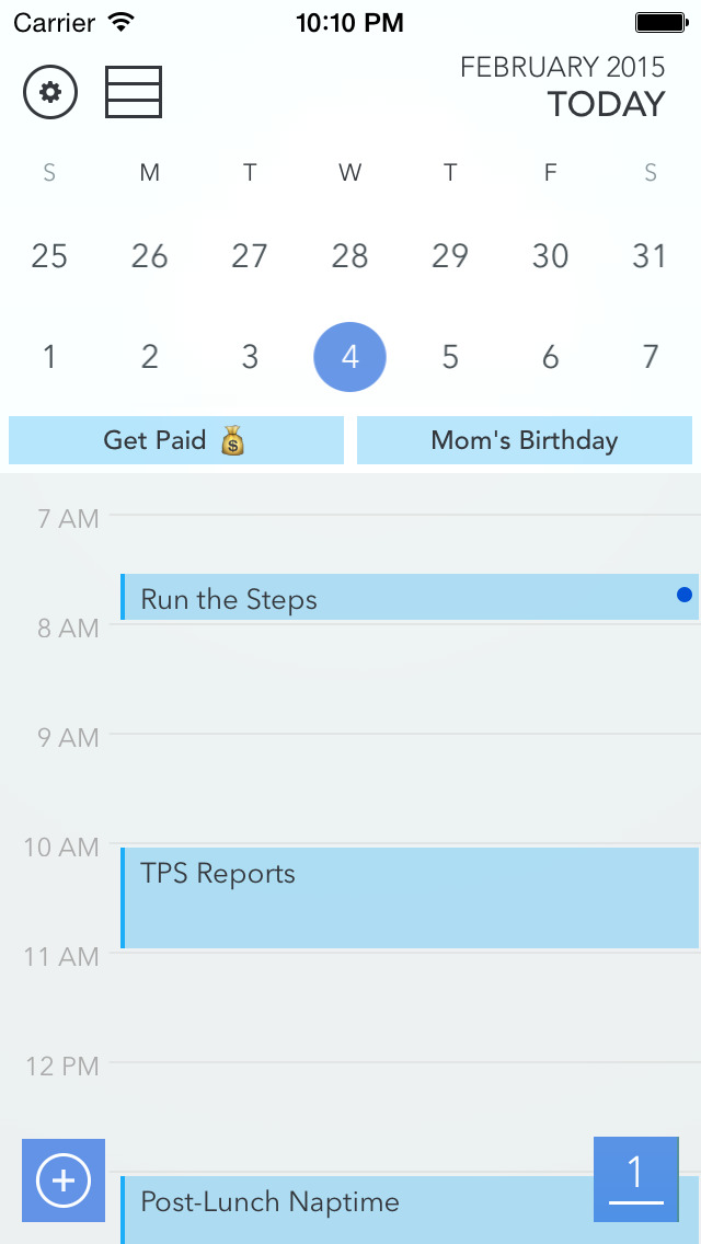 CalPal Calendar - for Google, Yahoo, Exchange, and More screenshot 2